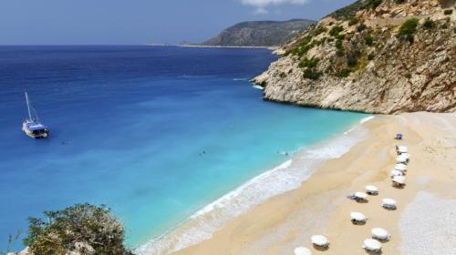 Пляж Капуташ как добраться из Кемер