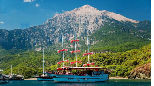 Excursions in Kemer in October