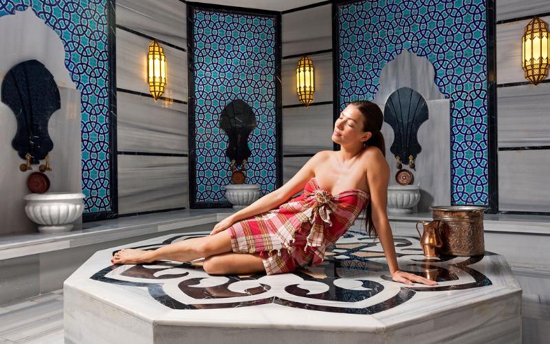 Turkish bath in Kemer