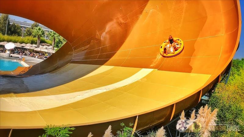 Water park The Land of Legends from Kemer