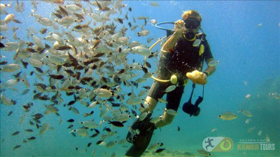 Diving in Kemer