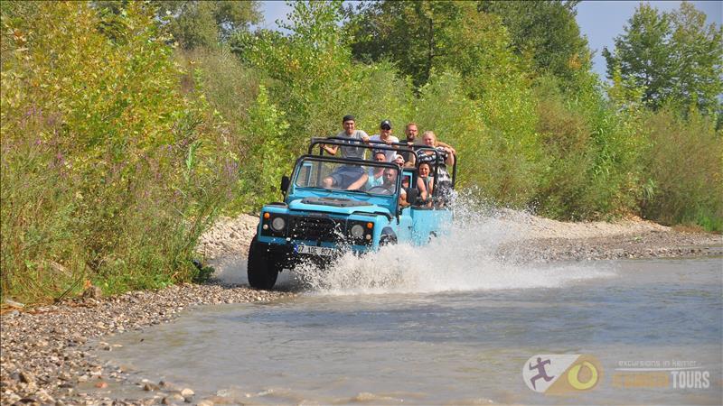 Jeep Safrai in Kemer Antalya