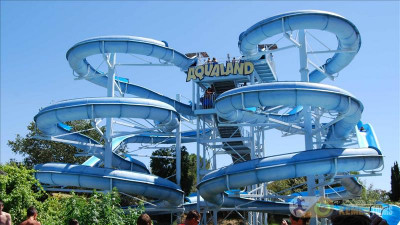 Aqualand Water Park from Kemer