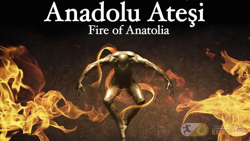 The fire of Anatolia from Kemer