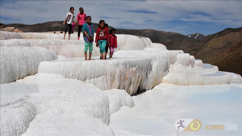 Excursion to Pamukkale from Kemer