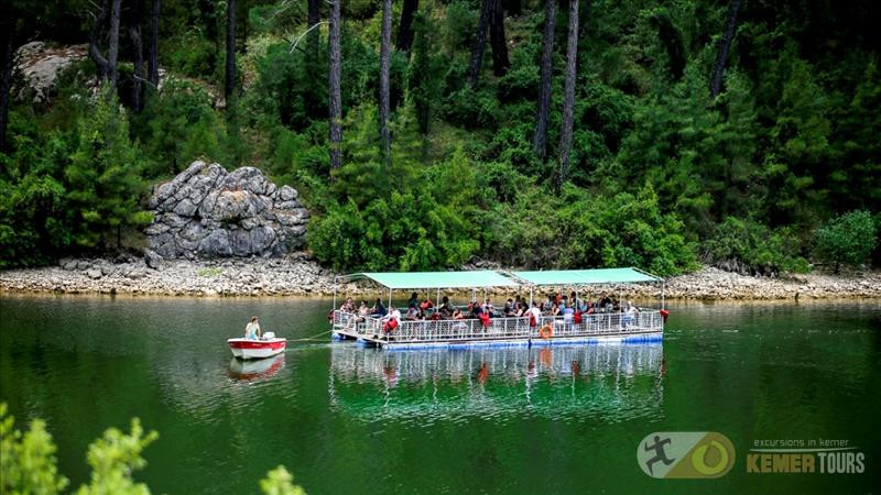 Picnic tour and fishing on Lake Karajaoren Kemer