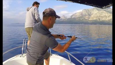 Sea fishing tour in Kemer