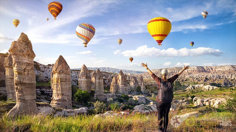 Cappadocia for 3 days tour from Kemer