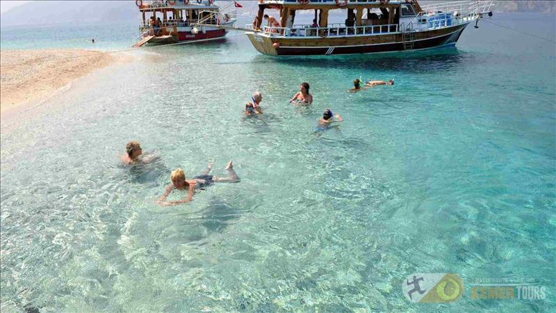 Экскурсия на остров Сулу Ада из Кемера